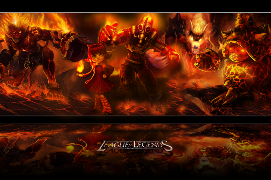 League of Legends Fire