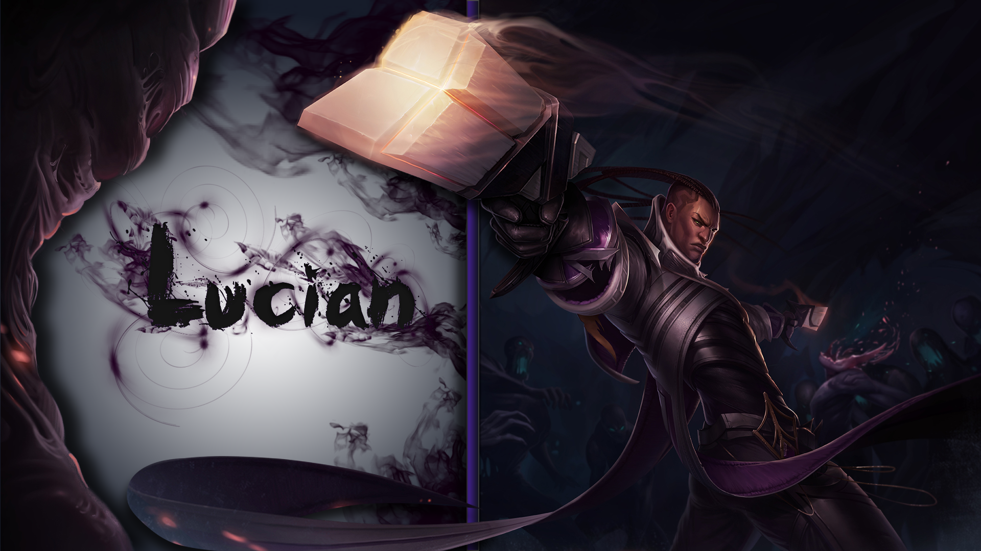 Lucian Fan Art - League of Legends Wallpapers