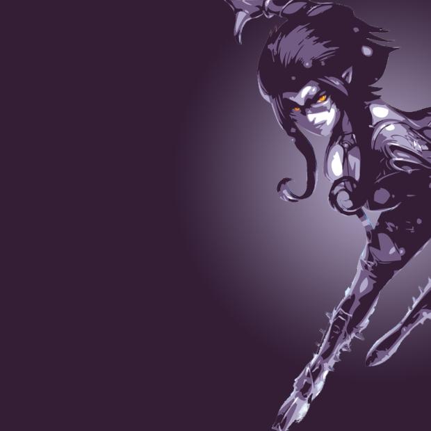 Masquerade Evelynn Minimalistic
