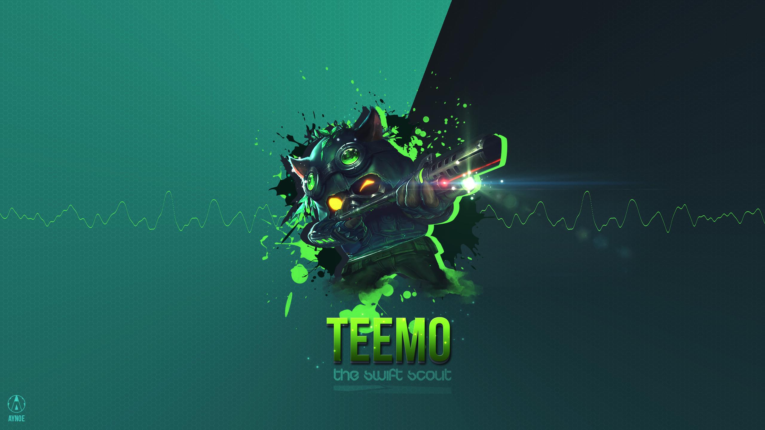 Omega Squad Teemo Fan Art - League of Legends Wallpapers