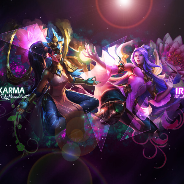 Order of The Lotus Karma & Irelia
