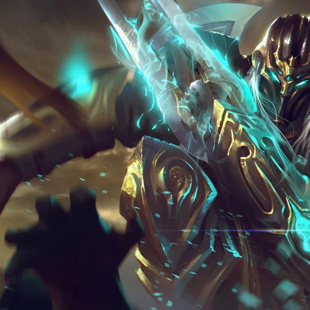 Shadow Templar Zed Skin Concept