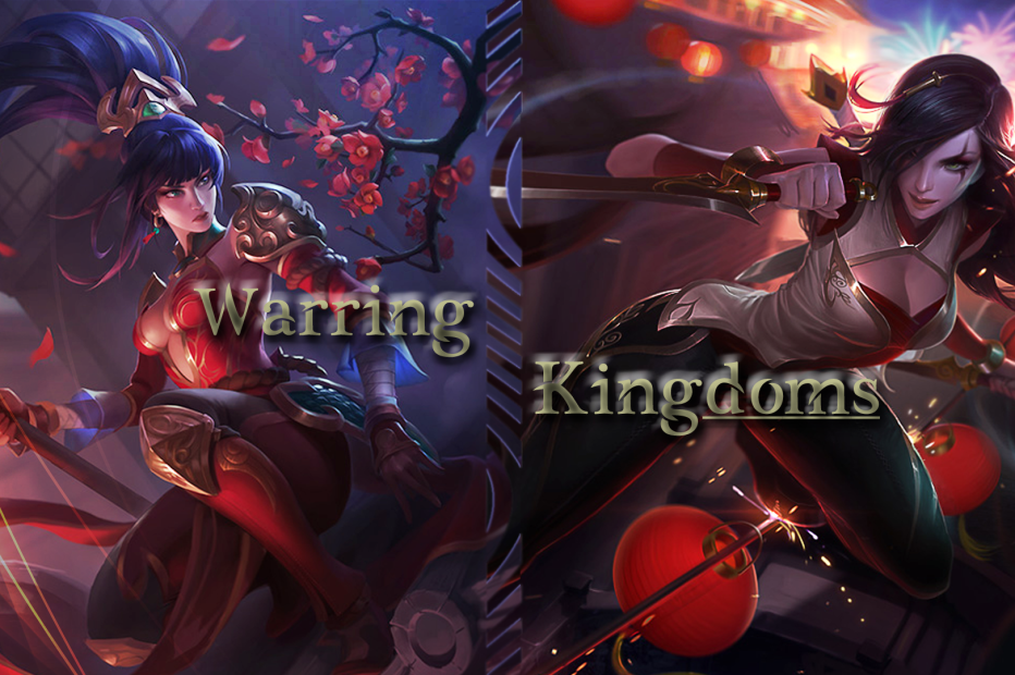 Warring Kingdoms Nidalee & Katarina