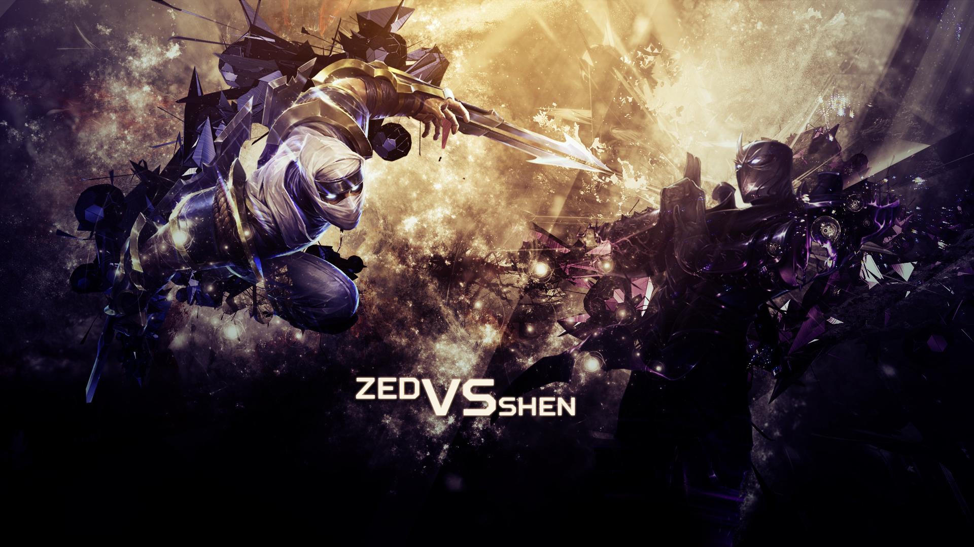Zed vs Shen