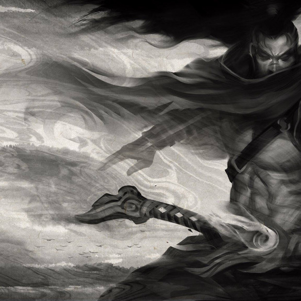 Black & White Yasuo