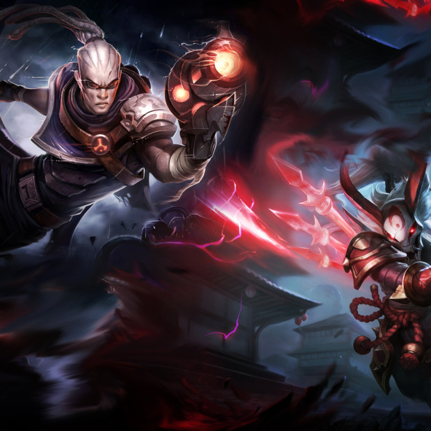 Hired Gun Lucian & Blood Moon Kalista