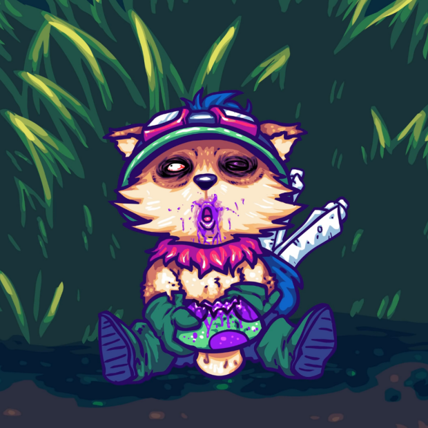 Drugged Teemo