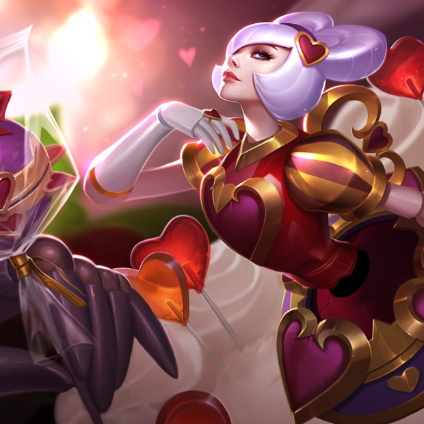 Heartseeker Orianna Splash Art
