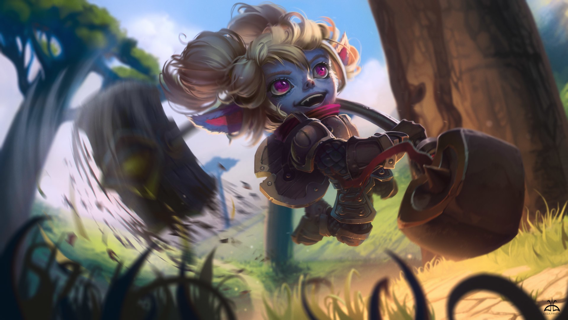 poppy fan art league of legends wallpapers