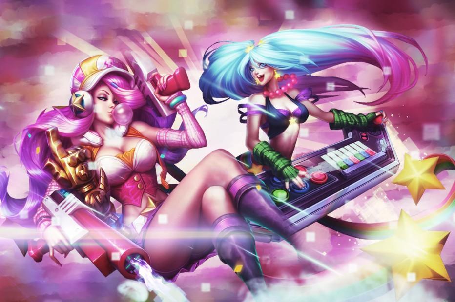Arcade Miss Fortune & Sona