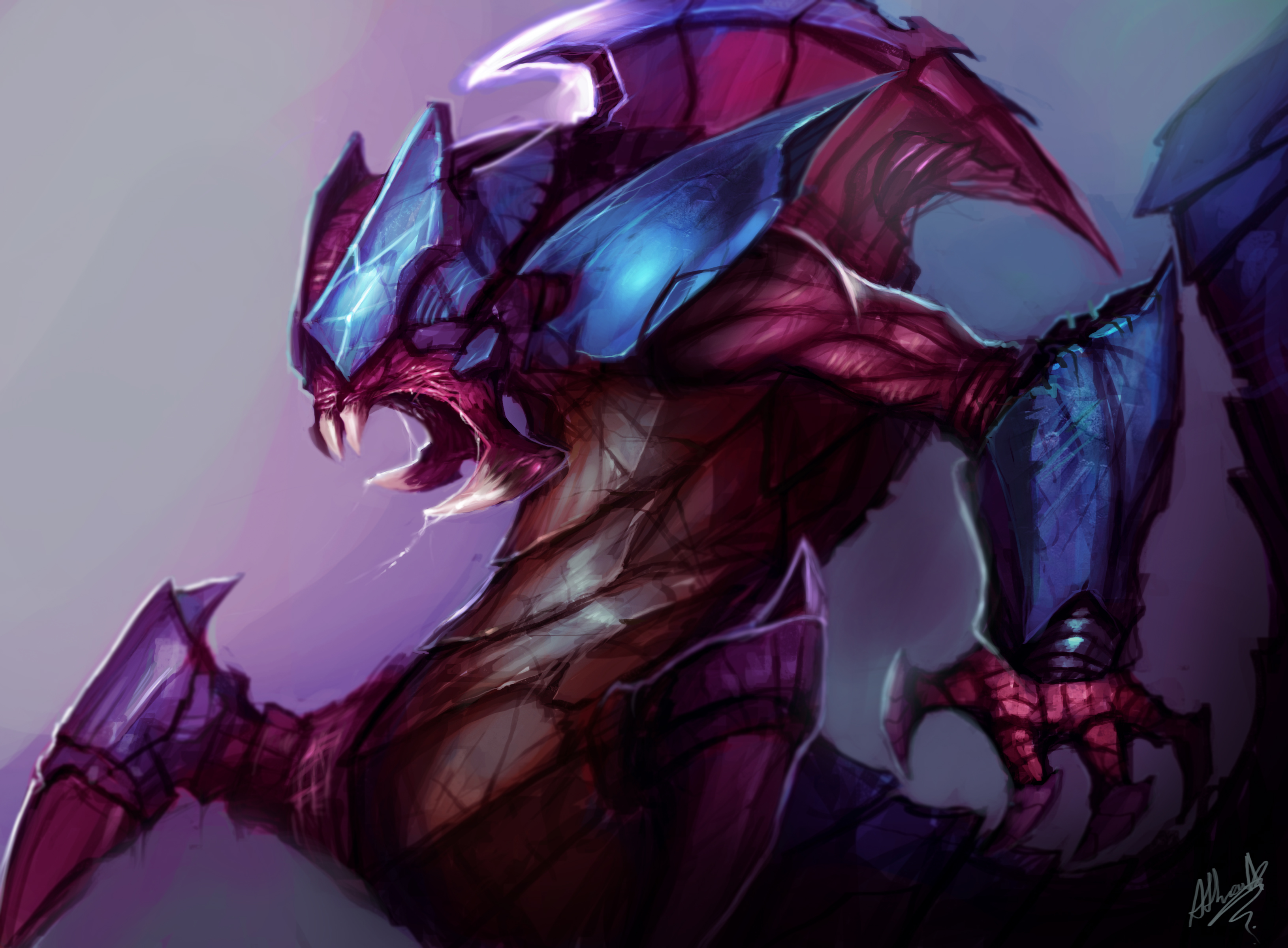 Rek Sai Fan Art League Of Legends Wallpapers
