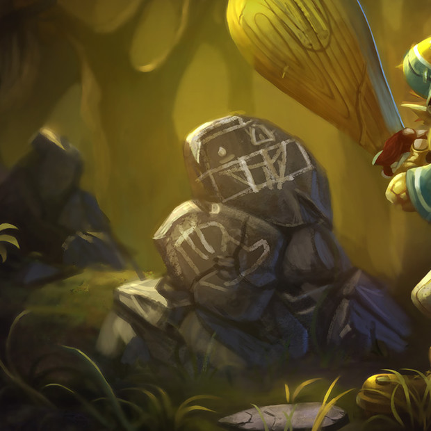 Lil' Slugger Trundle Old Splash Art