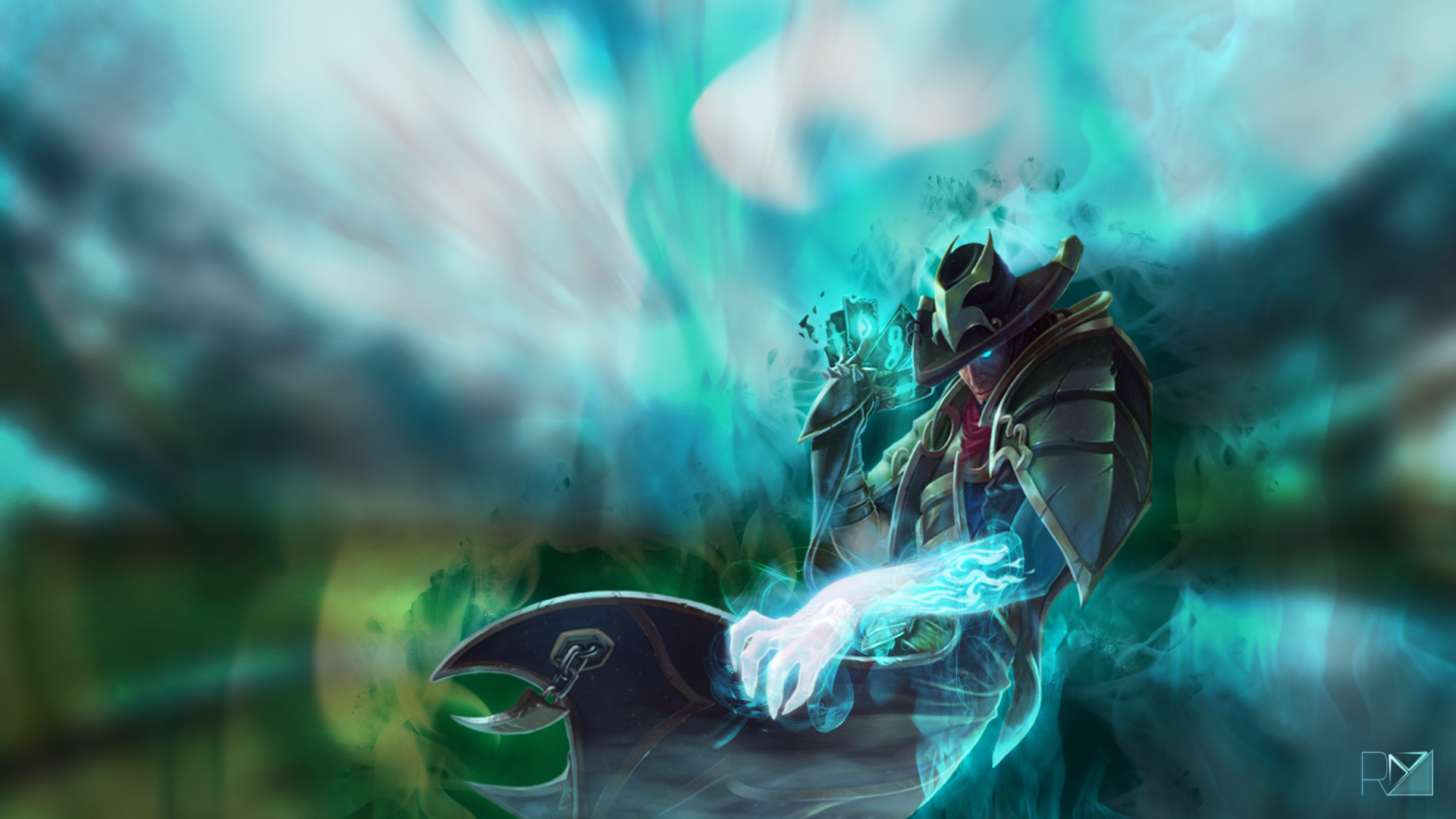 Twisted fate lolwallpapers twisted fate wallpaper voltagebd Images