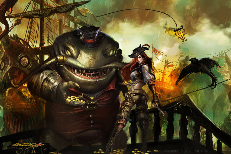 Tahm Kench & Miss Fortune