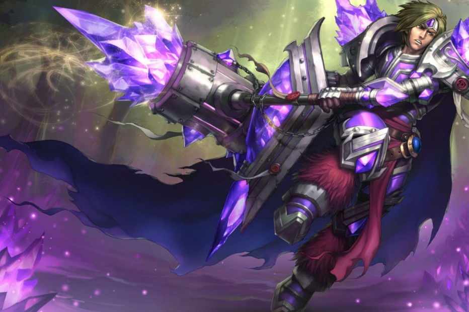 Armor Of The Fifth Age Taric Chinese Splash Art
