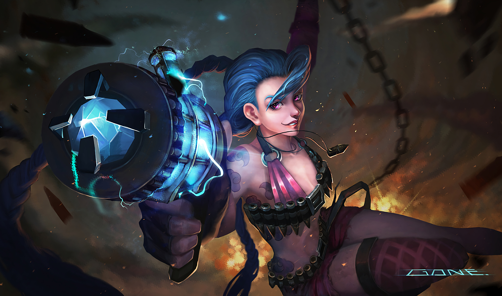 jinx - lolwallpapers