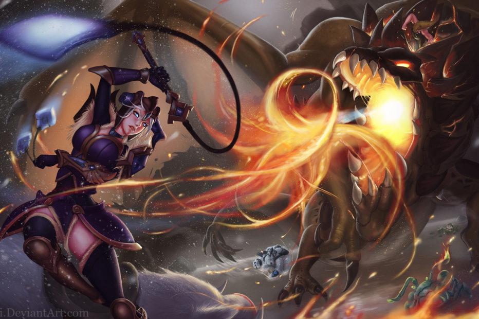 Sejuani vs The Dragon