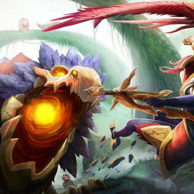 Quinn vs Crimson Raptor