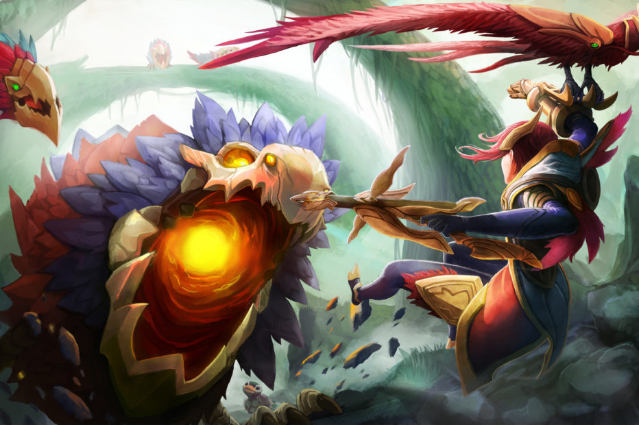 Quinn vs Crimson Raptor