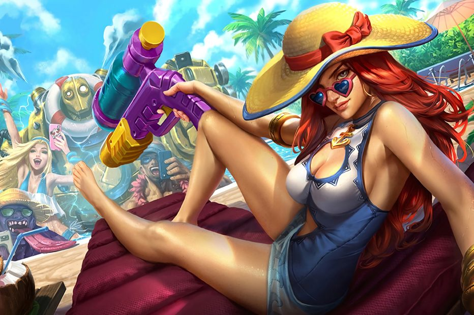 Pool Party Miss Fortune Update