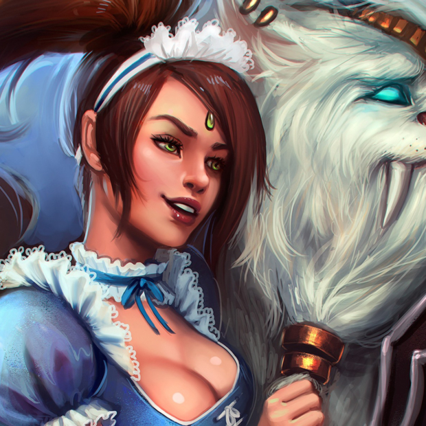 French Maid Nidalee & Rengar