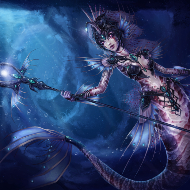 Abyssal Beauty Nami Skin Concept