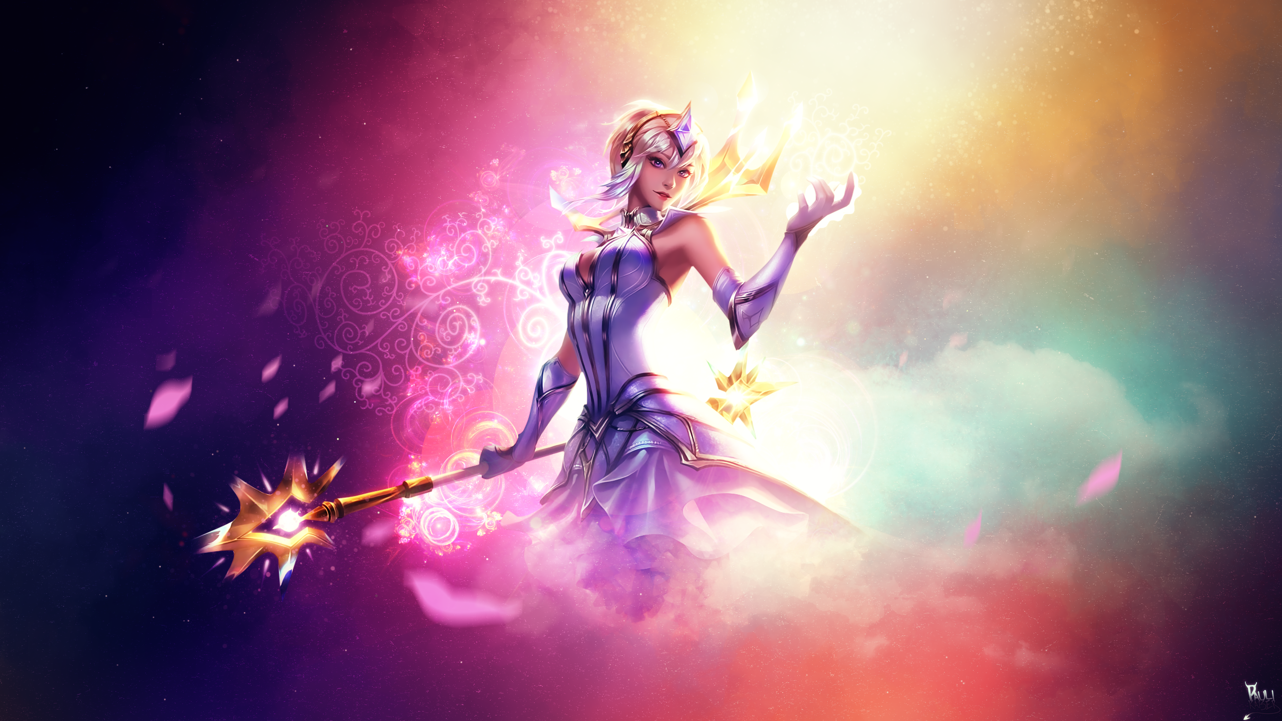 Elementalist Lux Lolwallpapers