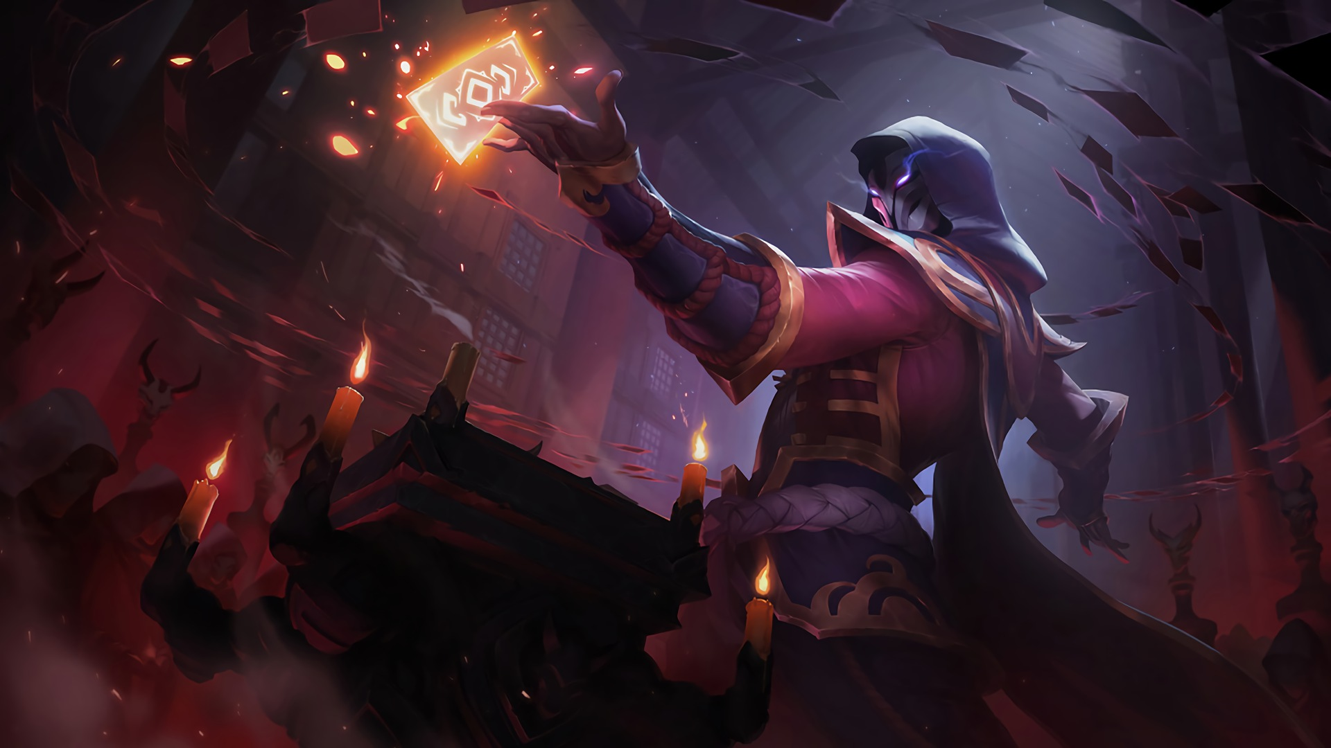 Blood moon twisted fate lolwallpapers blood moon twisted fate wallpaper voltagebd Gallery