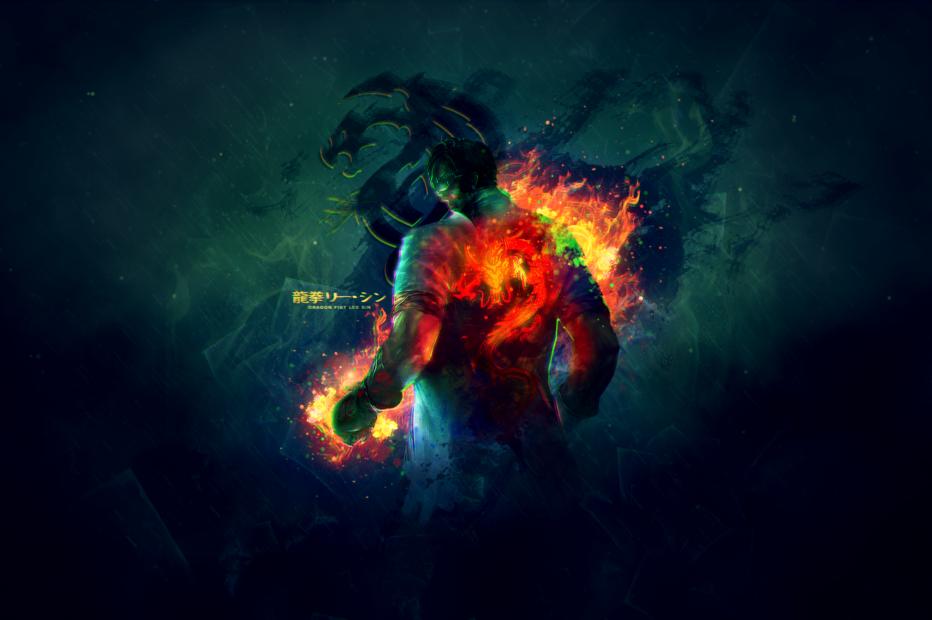 dragon fist lee sin - photo #24