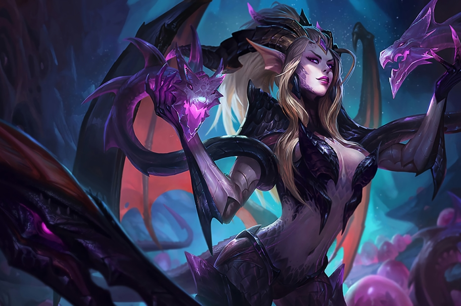 Dragon Sorceress Zyra