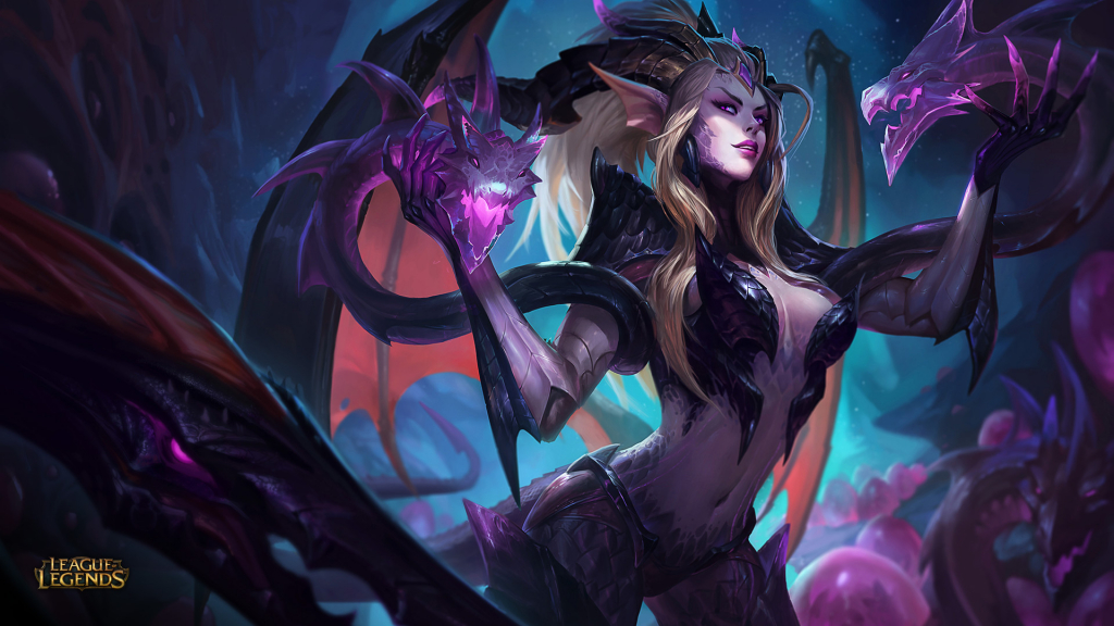 Dragon Sorceress Zyra wallpaper