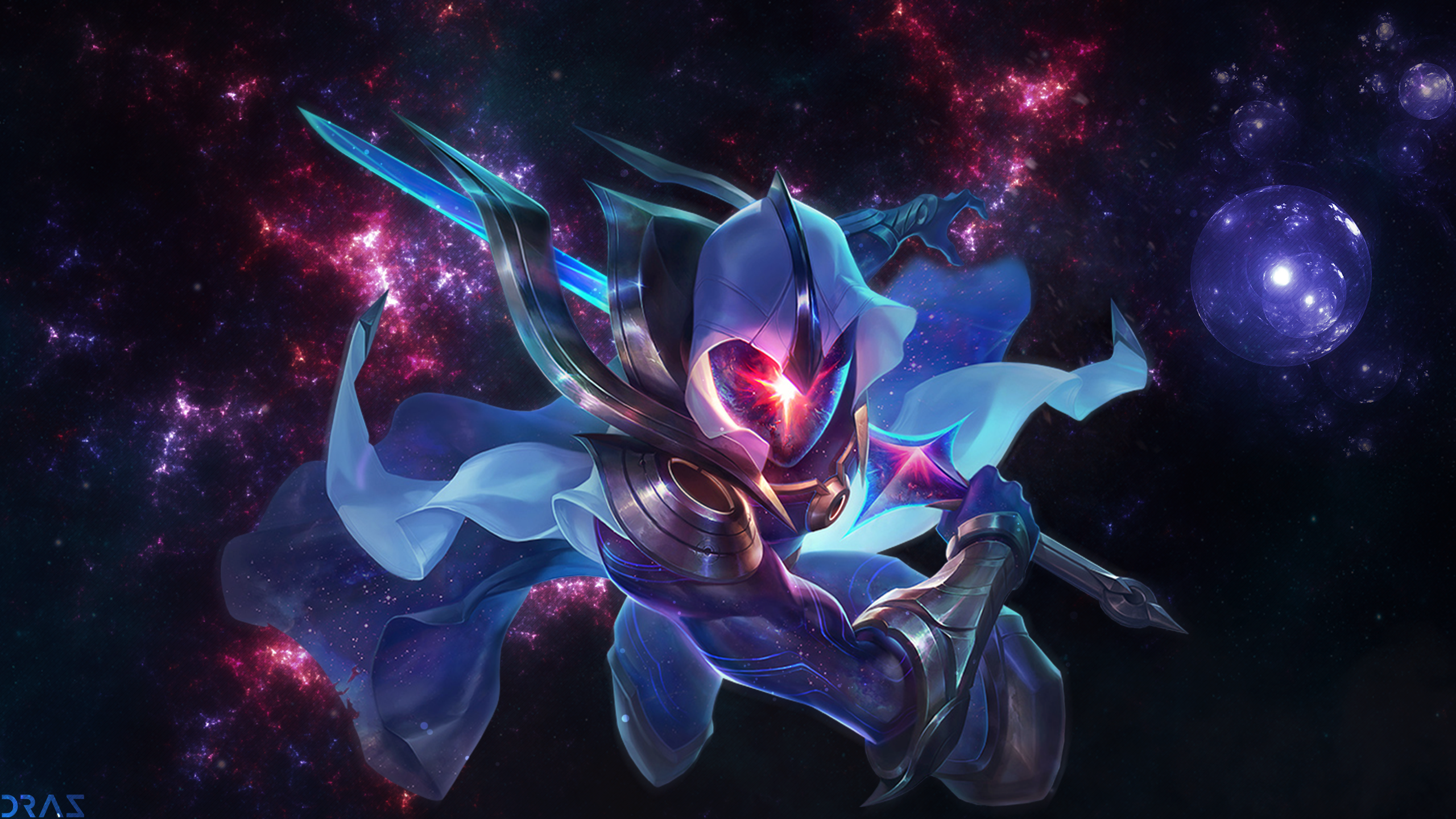 Cosmic Blade Yi Wallpaper