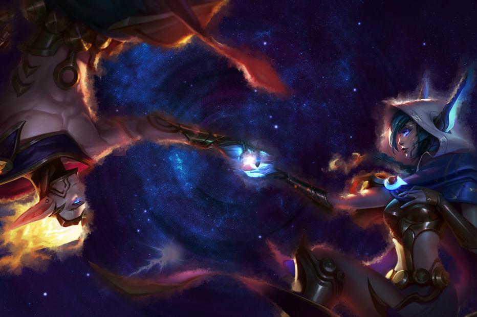 Cosmic Xayah & Rakan