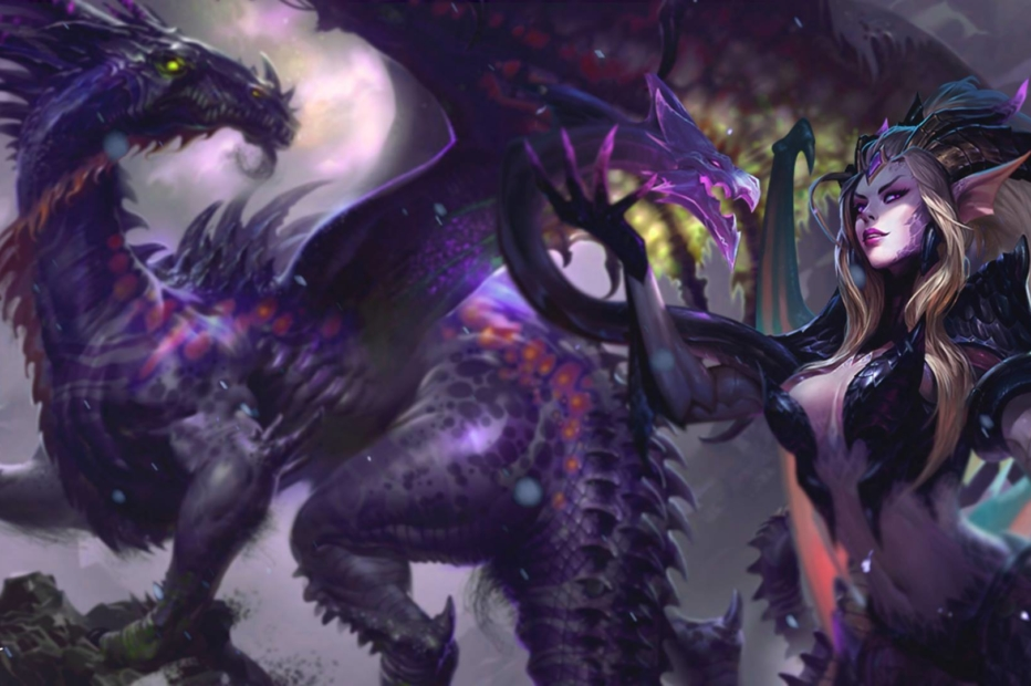 Dragon Sorceress Zyra